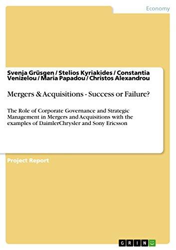 amazon com mergers acquisitions success or failure the role