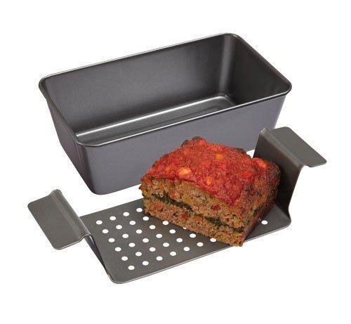 L'goks Professional Non-Stick 2-Piece Healthy Meatloaf Set