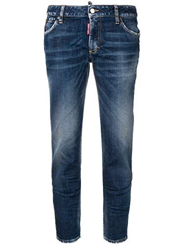 DSQUARED2 Women's S75lb0146s30595470 Blue Cotton Jeans