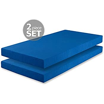 This Item Zinus Sleep Master Memory Foam 5 Inch Twin Mattress 2 Pack,  Perfect For Bunk Beds / Trundle Beds / Day Beds, Blue (Set Of 2)