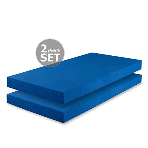 Zinus Memory Foam 5 Inch Twin Mattress 2 pack, Perfect for B