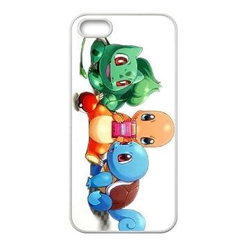 iPhone 4 4s Cell Phone Case White Pokemon Qhkr: Amazon.es ...