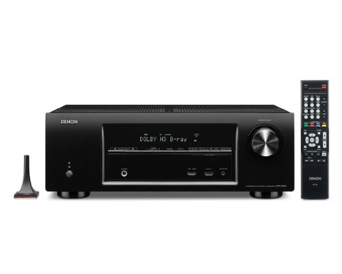 Denon AVR-E300 5.1 Channel 3D Pass Through and Networking Home Theater AV Receiver with AirPlay (Discontinued by Manufacturer) by Denon