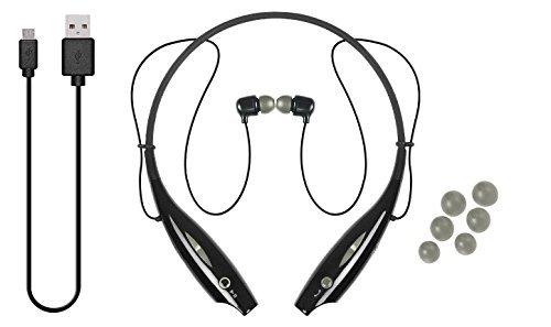 IJOY LOGO Premium Wireless Active Bluetooth NeckBand Headset - Rock Gray