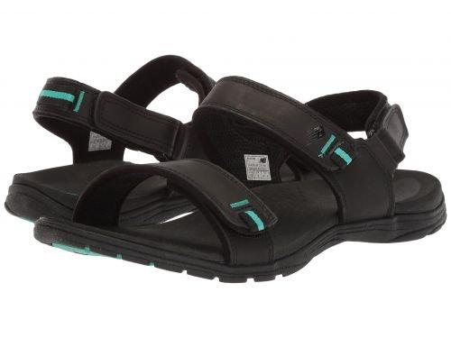 New Balance(ニューバランス) レディース 女性用 シューズ 靴 サンダル Traverse Leather Sandal - Black [並行輸入品]