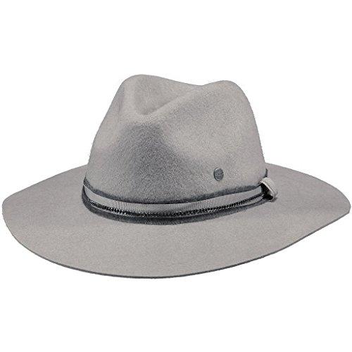 Nastro Barts Grigio Con Women's Nero Pelle Gray Chiaro Hat in Alexia ZUxTZrnq0