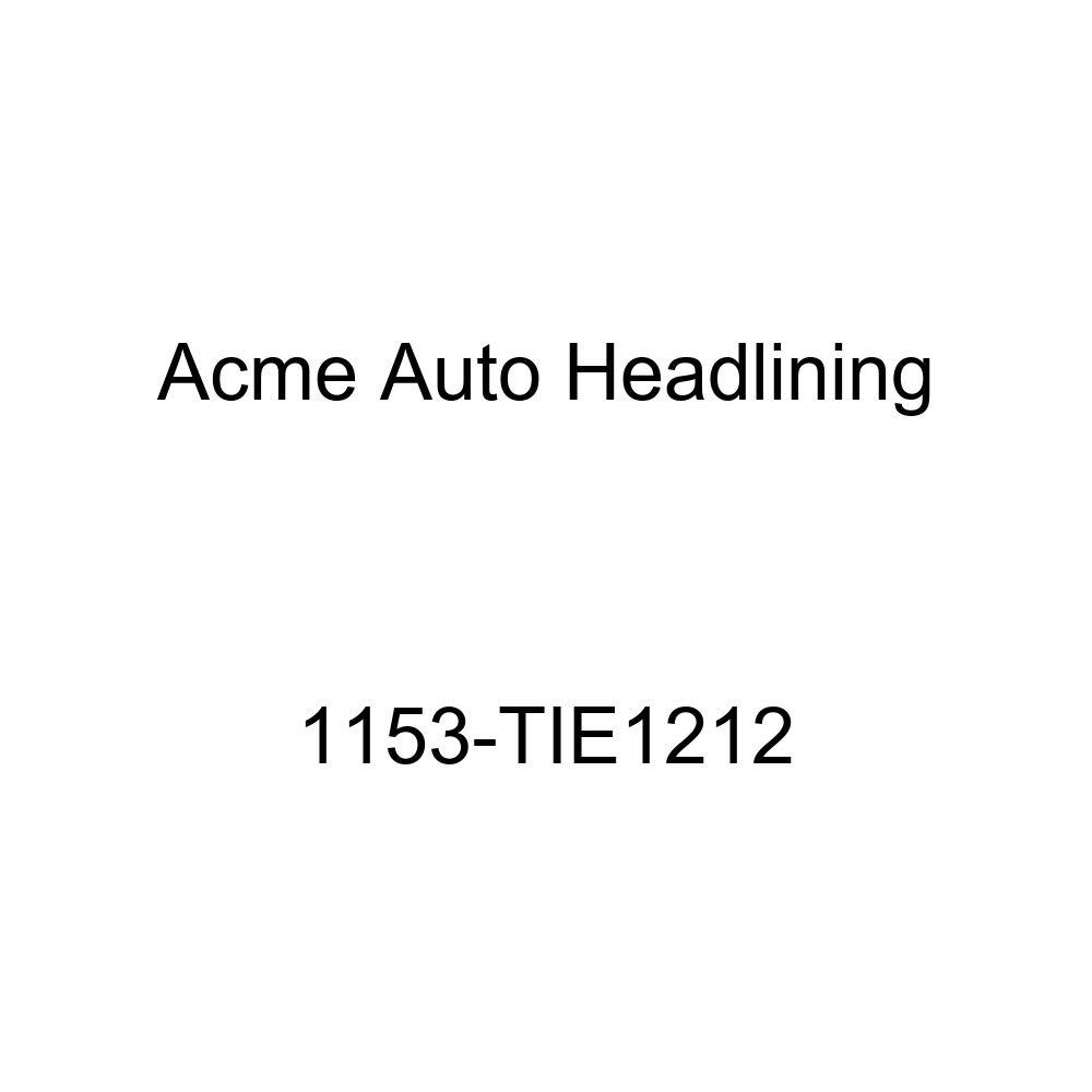 Acme Auto Headlining 1153-TIE1212 Dark Blue Replacement Headliner 1955 Buick Super /& Cadillac Series 60, 62 4 Door Sedan 8 Bows