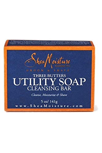 Shea Moisture Men's Utility Soap, 5 Ounce (5 Pack) by Shea Moisture