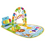 3 in 1 Baby Music Play Mat Multifunctional Piano Develop Crawling Musical Carpet Keyboard Infant Fitness Rug Education Racks Toy