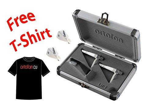 Ortofon Concorde Elektro Twin Pack + 2 Extra Elektro Stylus + Ortofon DJ T-shirt [並行輸入品]   B078G8ZYSJ