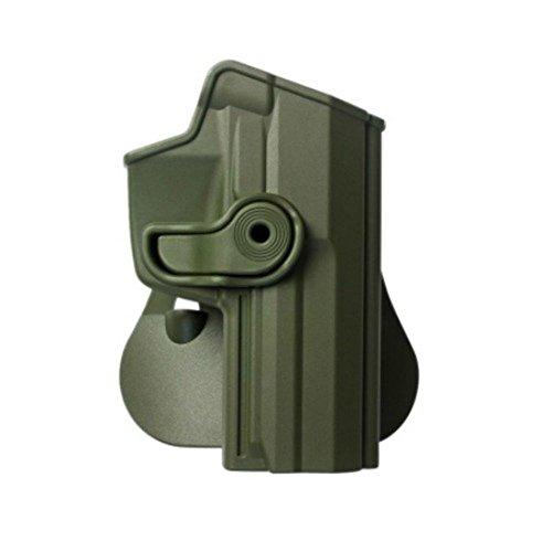IMI Defense Z1210 Tactical verstellbar drehbar drehung Pistole holster für Heckler und Koch USP 45 Full-Size H&K FS .45 verdeckte Trage POLYMER Taktik ROTO Pistolenhalfter