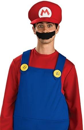 SUPER7 Super Mario Cap (disfraz): Amazon.es: Juguetes y juegos