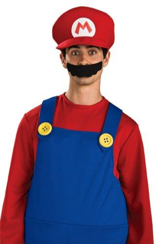 Super Mario Brothers, Deluxe Hat, (Teen Mario Costumes)