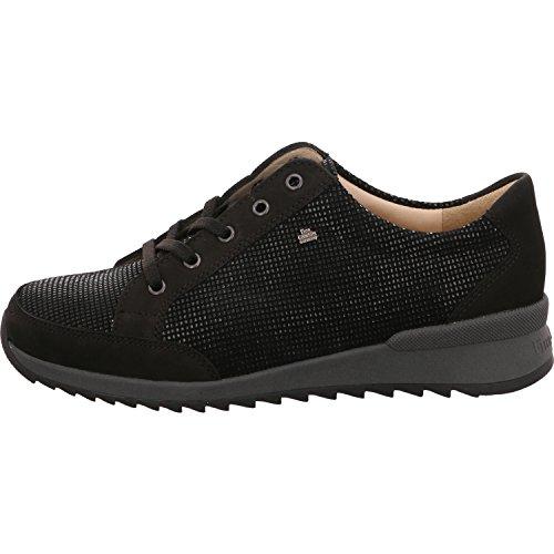 Sneaker Zapatos Cordones De Mujer Finncomfort Negro Para 6Z1qwxanOd