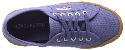 Superga 2750 Naked Cotj - Zapatillas Unisex Niños Azul (X46 Blue Velvet)
