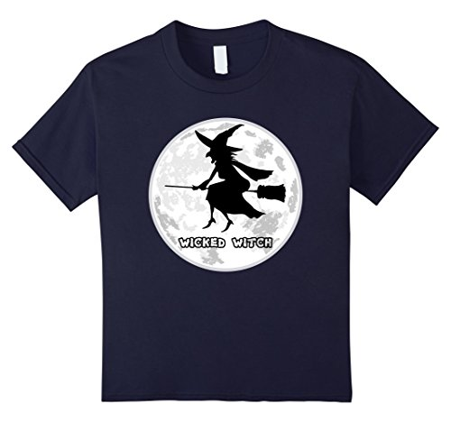 Kids Hollween Flying Wicked Witch Humor T-shirt 12 (Hollween Costume Ideas)