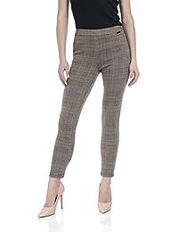 Plaid Pants for Women Ultra Soft Leggings Womens Slim Fit Capri Pants
