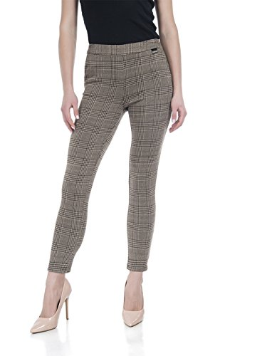 Stretch Plaid Pants - Soshow Plaid Pants for Women,Ultra Soft Leggings,Womens High Waist Slim Fit Pants