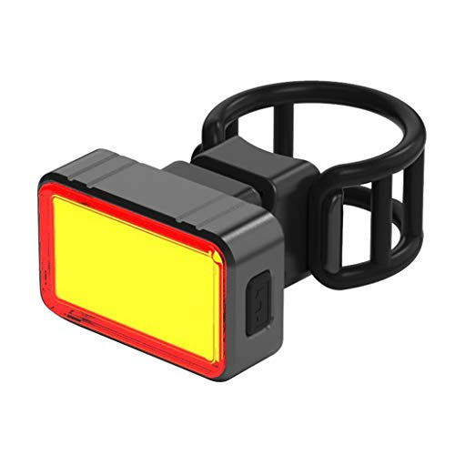 Mbtaua-Sports LED Bicycle Rear Light Cycling Safety Warning Tail Lamp Running Safety Light USB Rechargeable