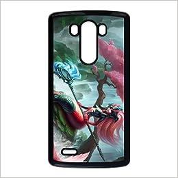 Amazon.com: LG G3 phone case Black nami league of legends ...
