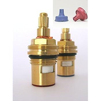 Ceramic Disc Stem cartridge faucet Tap valve Quarter turn