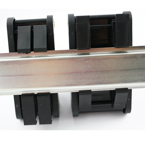 Cable to Wire Transition 9 Position Female D-Sub Connector to Screw Clamp Terminal Blocks 1.48 Length ASI 11001 26 to 12 AWG IMDS09F DIN Rail Mount Interface Module