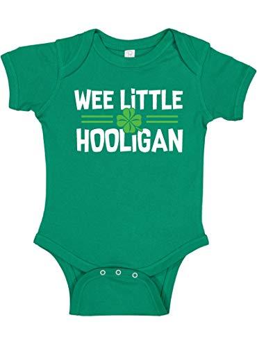 Panoware Baby Boy or Girl St Patrick's Day Onesie | Wee Little Hooligan, Kelly Green, NB]()