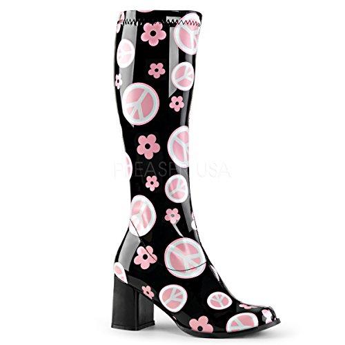 Funtasma Women's Gogo 300FL Black Fashion Boot 7 -