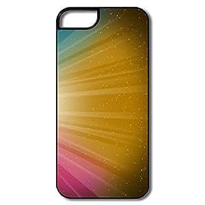 IPhone 5/5S Case, Burst Dark Orange White/black Covers For IPhone 5