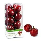 FloraCraft RS9800/4/6 SimpleStyle 15-Piece Mini Decorative Fruit, Red Apple