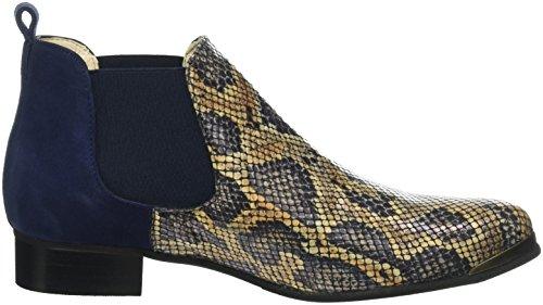 TAPODTS Tess 1.5, Zapatillas de Estar por Casa para Mujer Azul - azul
