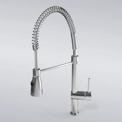 Luxury Swivel Waterfall Basin sink Pull Out Spray Tap Mixer Kitchen Faucet, Chrome Finish Ys4564