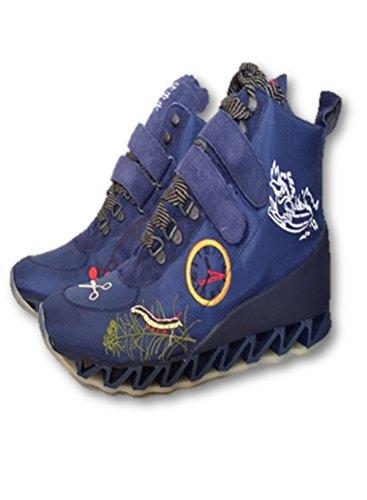 Camper Blue High Top Sneaker Shoe Boot For Men Size 9/Women
