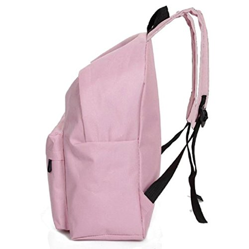 Backpack Shoulder Bag Pink School Canvas Girls Vovotrade Fashion Purple Rucksack wpgqfTII
