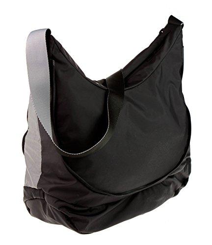 Negro cruzados negro Bolso para Duck Mandarina mujer qBgWfng