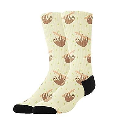Colomake Lazy Cute Funny Sloths Stockings Breathable Hiking Socks Classics Socks For Men Women Teens Kids Boys Girls Unisex - Sloth Socks