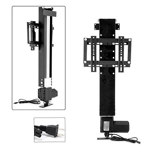 VEVOR Adjustable TV Lift Bracket with Remote Controller Fit for 14-32 inch TV LED LCD Motorized TV Lift Mount Bracket 500mm Stroke Electric TV Stand Lift Mechanism (for 14