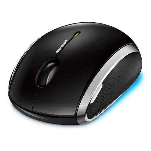Microsoft Wireless Mobile Mouse 6000 - Black by Microsoft (Image #2)