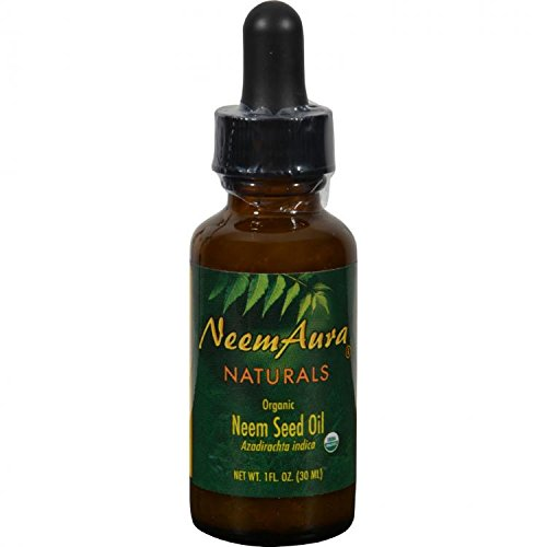 Neem Aura Naturals Neem Seed Topical Oil 1 Oz by Neem -