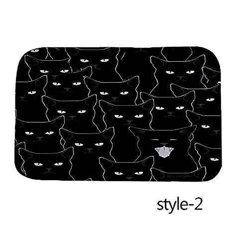 Loozoom Alfombrilla Antideslizante para Mascota, diseño de ...