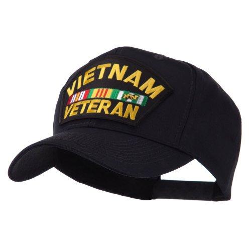 e4Hats.com Veteran Military Large Patch Cap - Vietnam Veteran OSFM