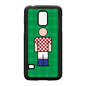 Croatia Black Hard Plastic Case for Samsung? Galaxy S5 Mini by Blunt Football International + FREE Crystal Clear Screen Protector