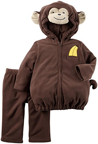 Carter's Baby Boys Costumes 119g131, Brown, 18 Months (Baby Girl Monkey Costume)