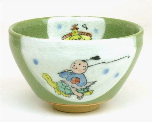 Tea / tea utensils , tea cup ( small bowl ) / Japanese folk tale series small bowl Urashima Taro by Good thing carefully Honji-en