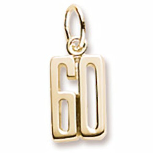 10k Yellow Gold Number 60...