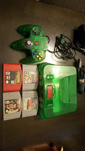 Nintendo System Video Console Jungle Green