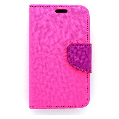 New Flip Mobile Wallet Case for Unimax- Pink