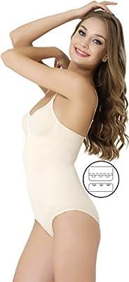 FORMeasy Women`s Seamless Shapewear Hook&Eye Closure Body Shaper,Panties Slimmer