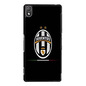 Sony Xperia Z3 Phone Case Unique Visual JUVE Juventus Fc Logo Phone Case Cover for Sony Xperia Z3 Official Serie A Club Cover