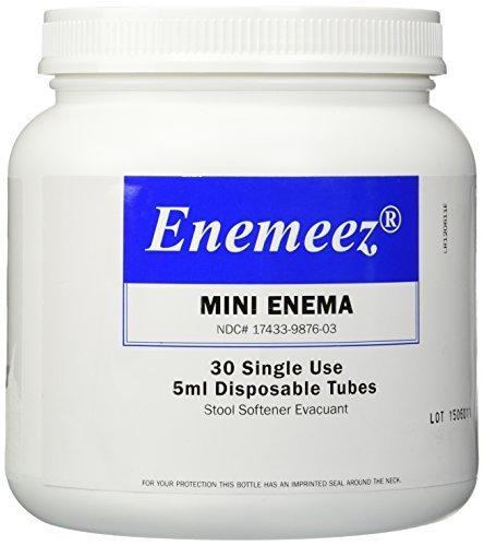 Enemmez Mini Enema - 30 Disposable Tubes by Enemeez by Enemeez